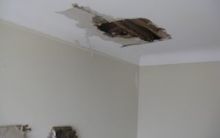 water damage repair ceiling damage